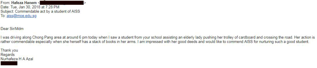 An email from Hafeza Hanem regarding our AI Student.png