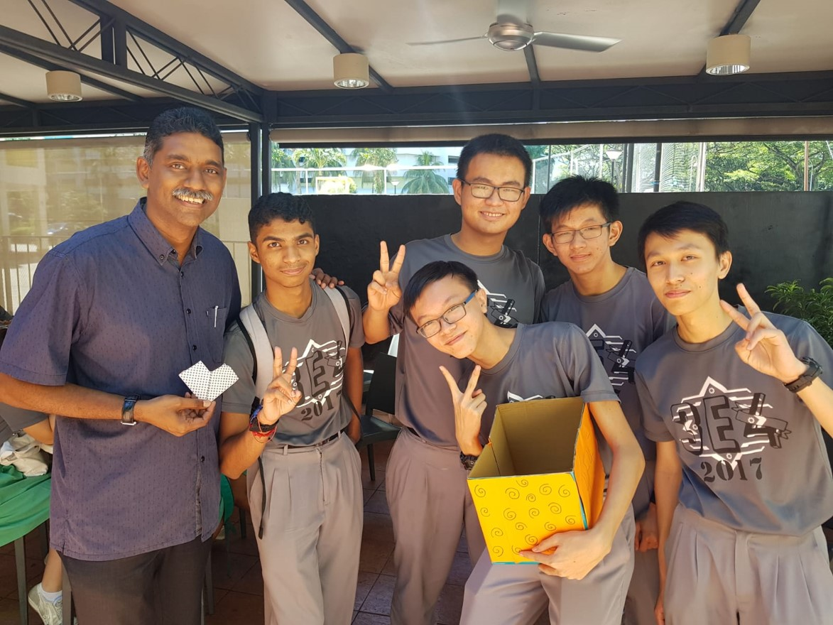 Israel Selvam with sec 4 students.jpg